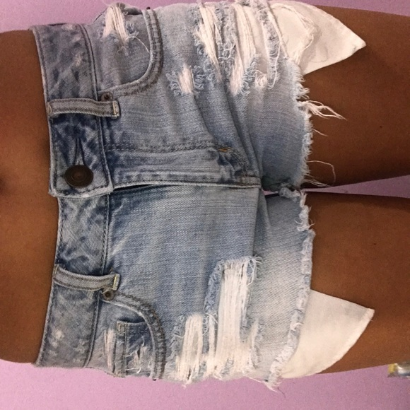 American Eagle Outfitters Pants - American eagle outfitters jean shorts. Light wash